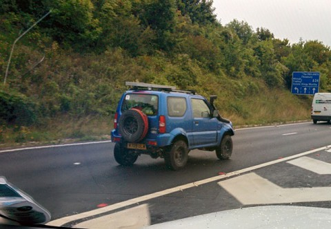 Spotted on M3 slipping to A34 North