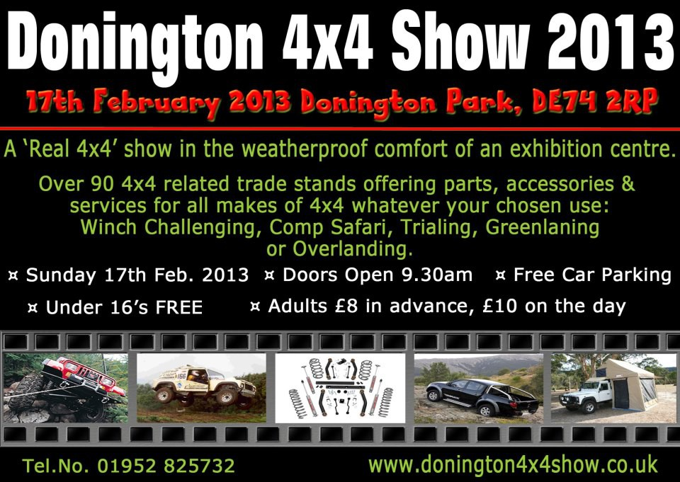 13/02/13 - New product for BigJimny - see it at Donington Show!