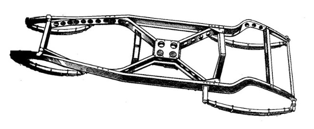 799px-Developed_ladder_chassis_with_diagonal_cross-bracing_and_lightening_holes_Autocar_Handbook_13th_ed_1935.jpg