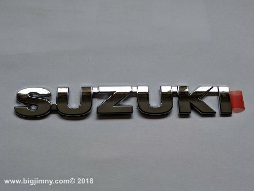 Suzuki badge