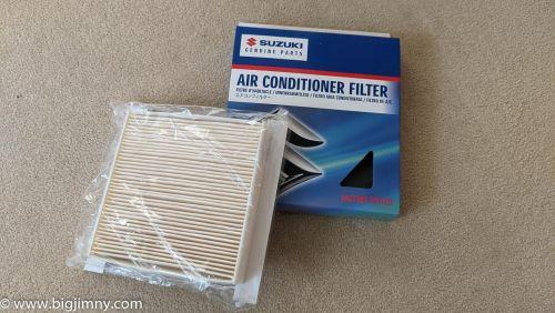 Aircon/Pollen Filter